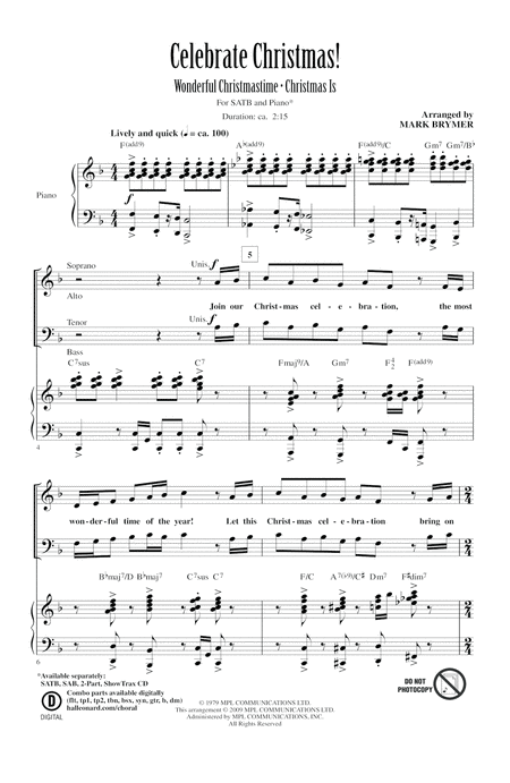 Celebrate Christmas! (Medley)