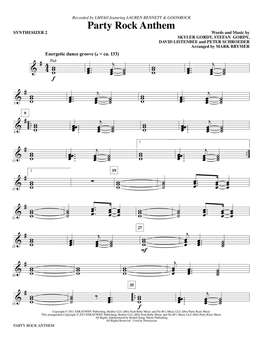 Party Rock Anthem - Synthesizer II