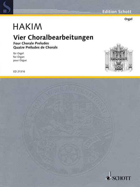 Four Chorale Preludes