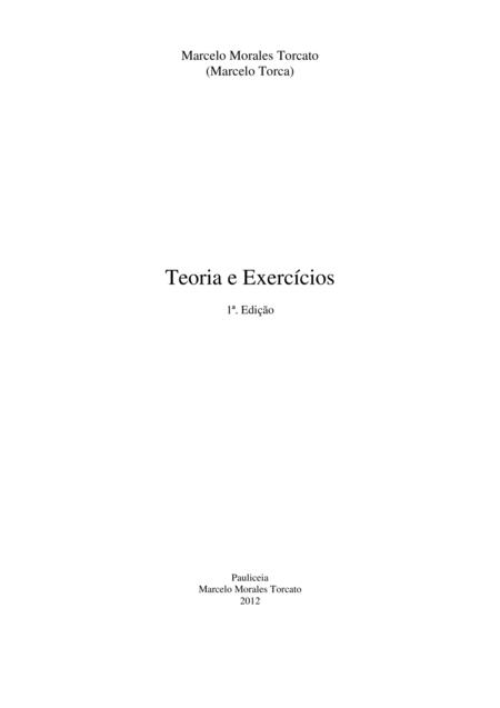 Teoria e Exercícios