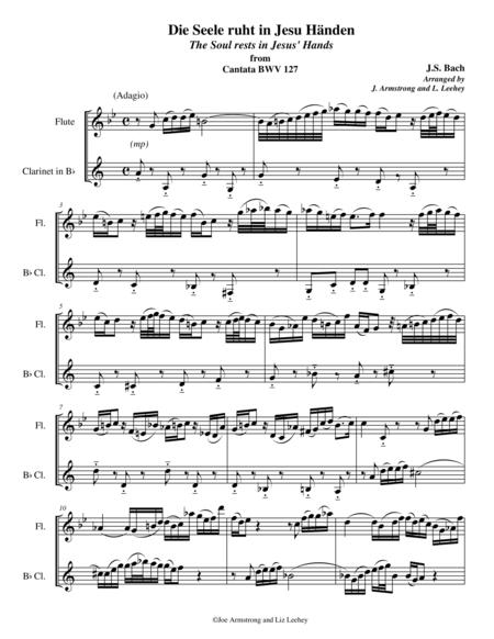 Die Seele ruht in Jesu Handen from Cantata BWV 127