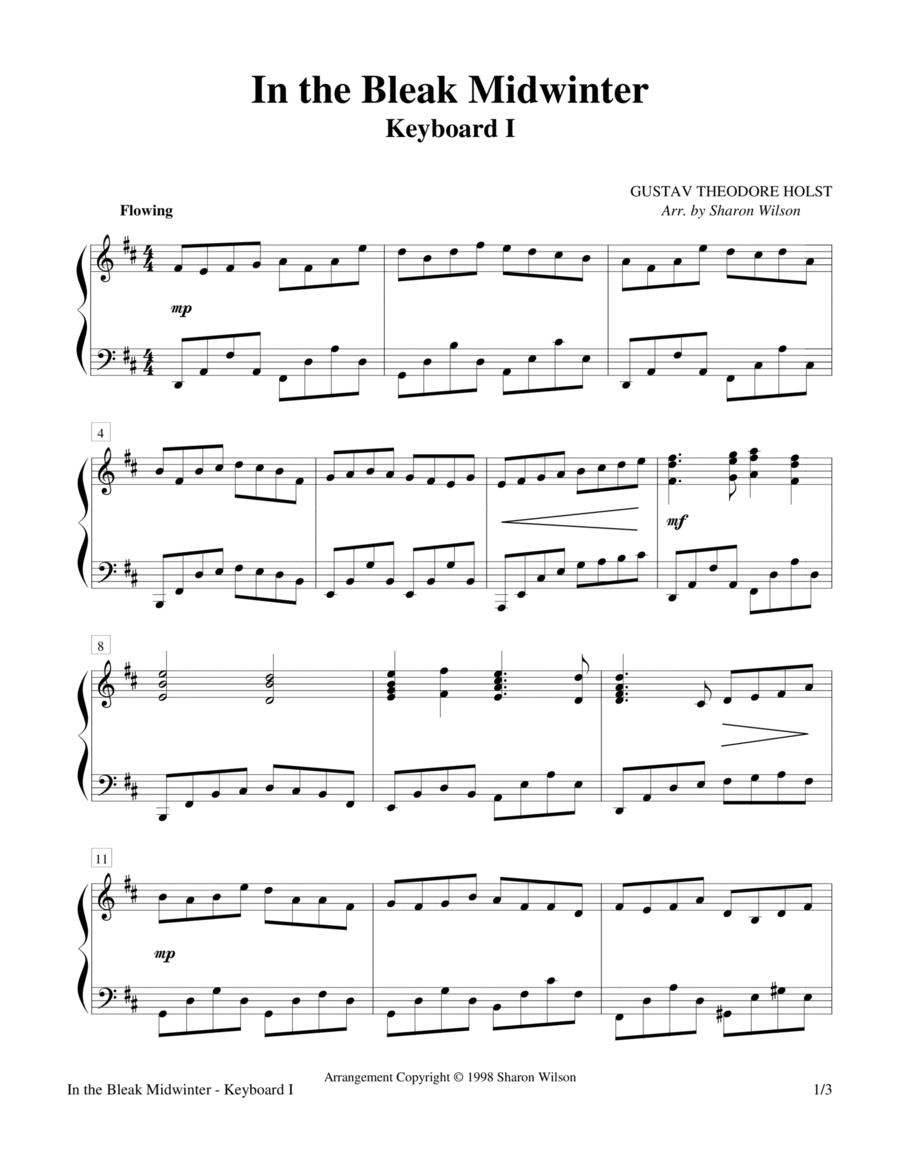 In the Bleak Midwinter (Keyboard Duet - 2 Pianos, 4 Hands)