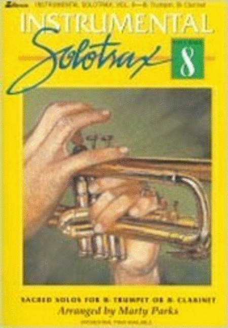 Instrumental Solotrax, Vol. 8: B-flat Trumpet/B-flat Clarinet - Book and CD