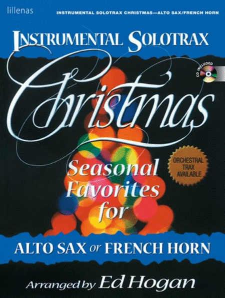 Instrumental Solotrax, Christmas: Alto Sax/French Horn - Book and CD
