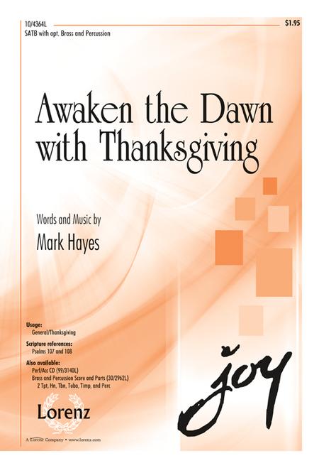 Awaken the Dawn with Thanksgiving