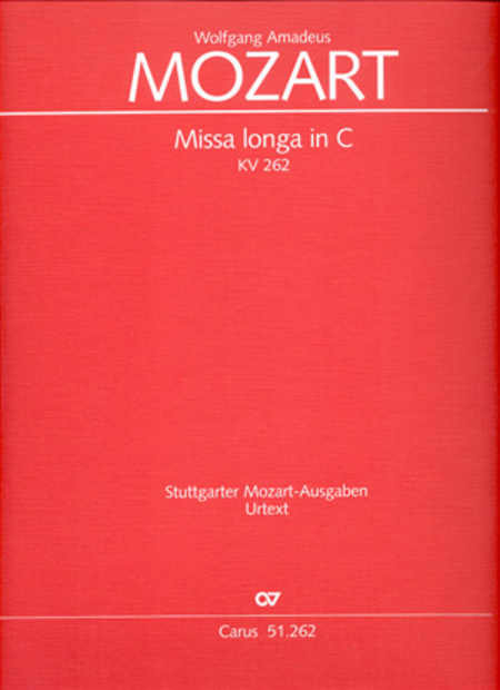 Missa longa in C major