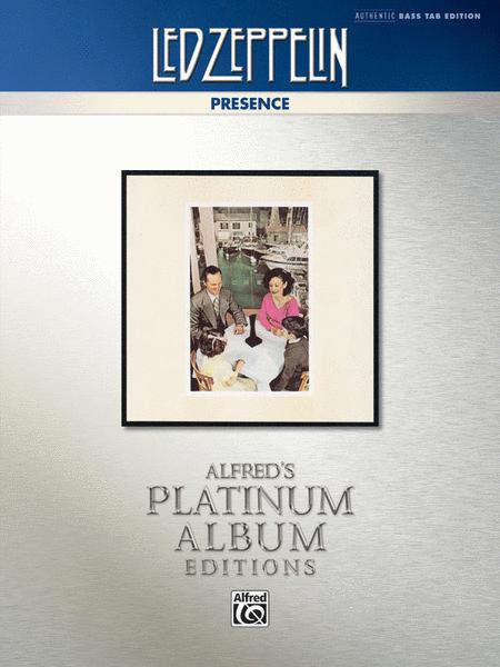 Led Zeppelin -- Presence Platinum Bass Guitar