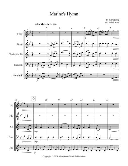 Marine's Hymn