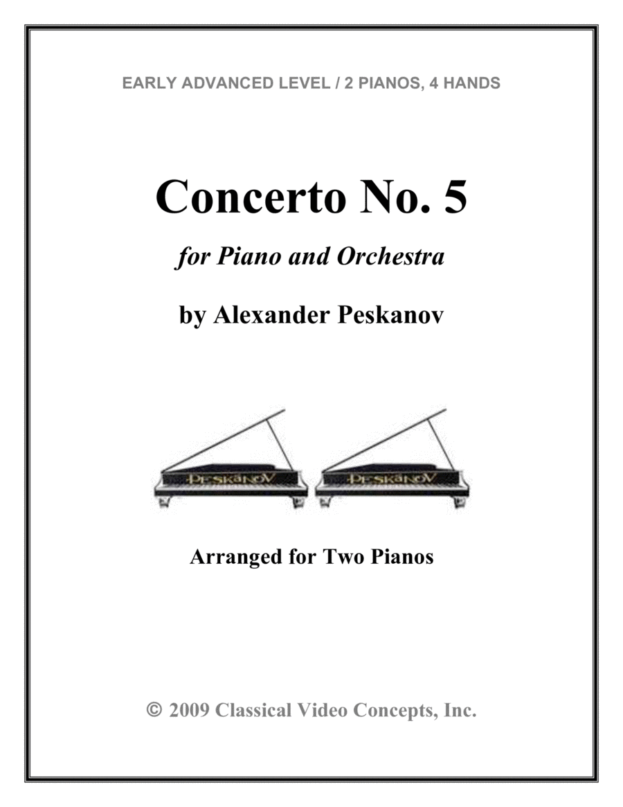 Concerto No. 5 for Piano and Orchestra