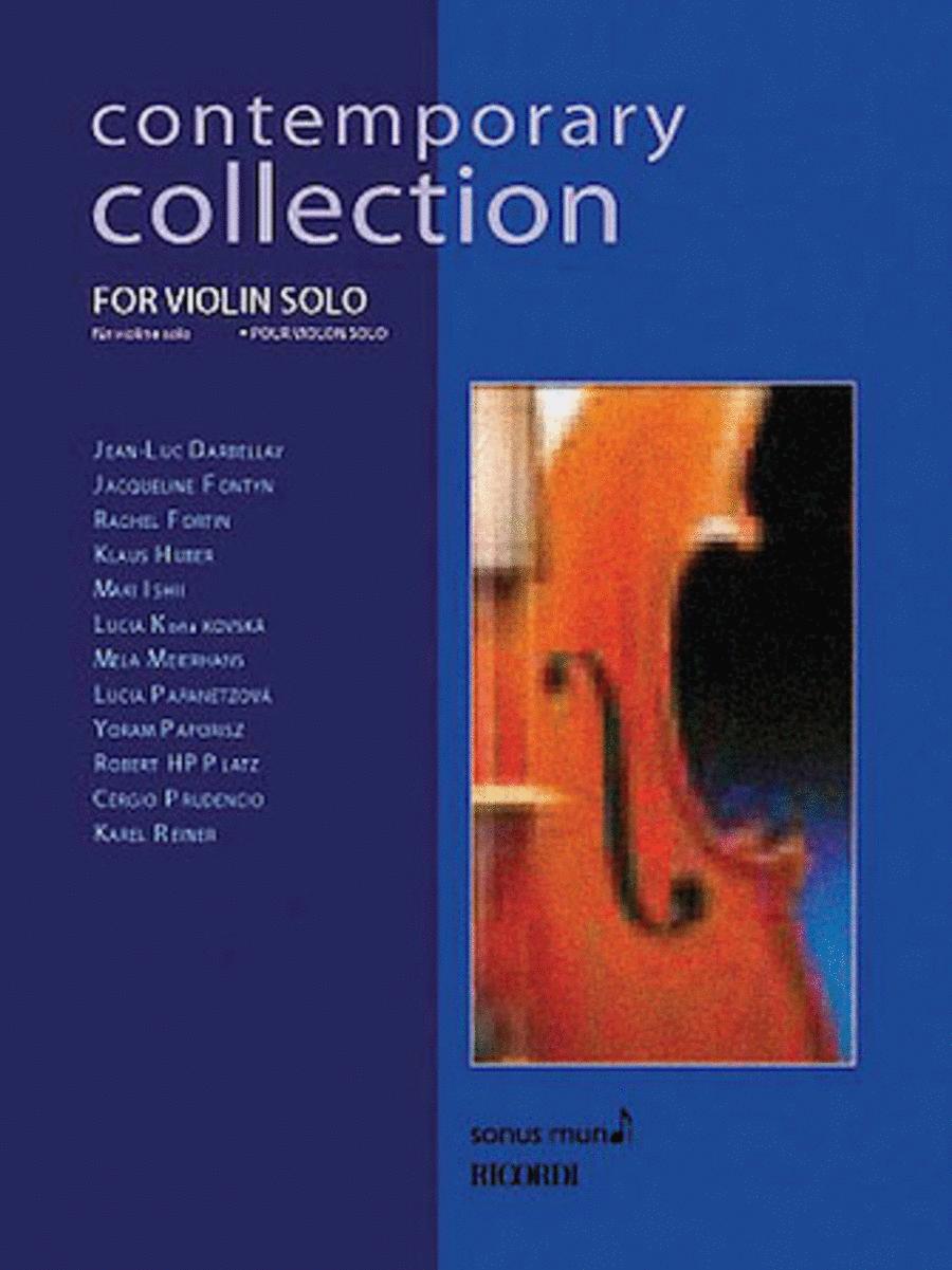 Contemporary Collection for Violin Solo