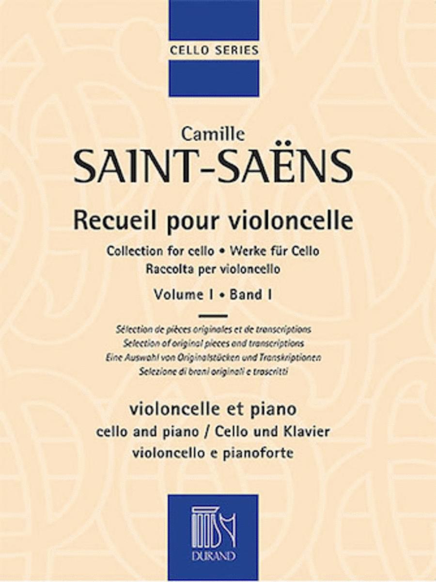 Collection for Cello - Volume 1