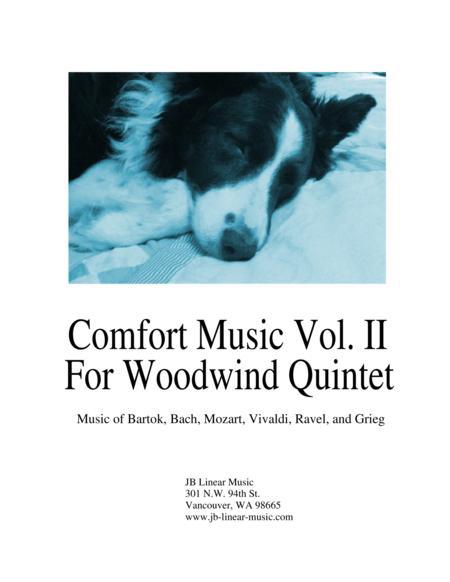 Comfort Music for Woodwind Quintet Vol II