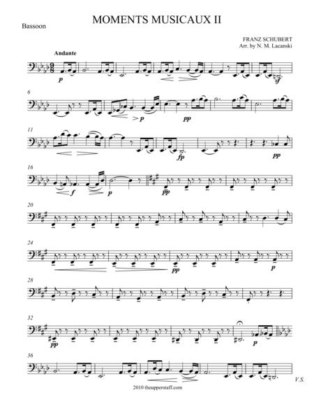Moments Musicaux II