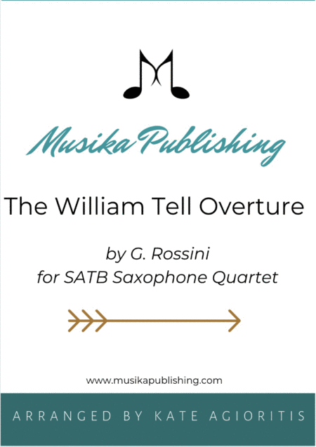 William Tell Overture - For Saxophone Quartet