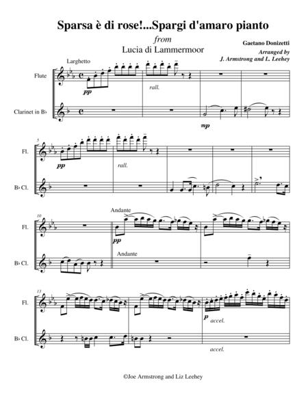 Sparsa e di rose!...Spargi d'amaro pianto from Lucia di Lammermoor