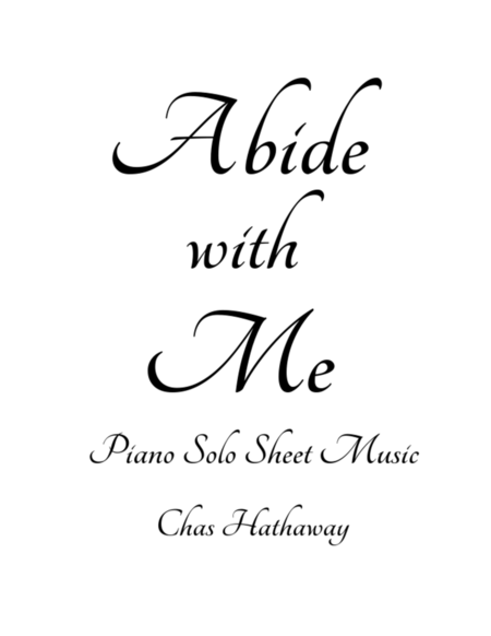 abide with me sheet music pdf