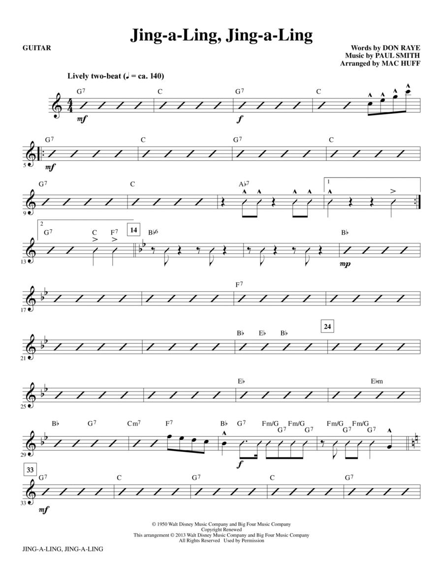 Jing-a-Ling, Jing-a-Ling - Guitar