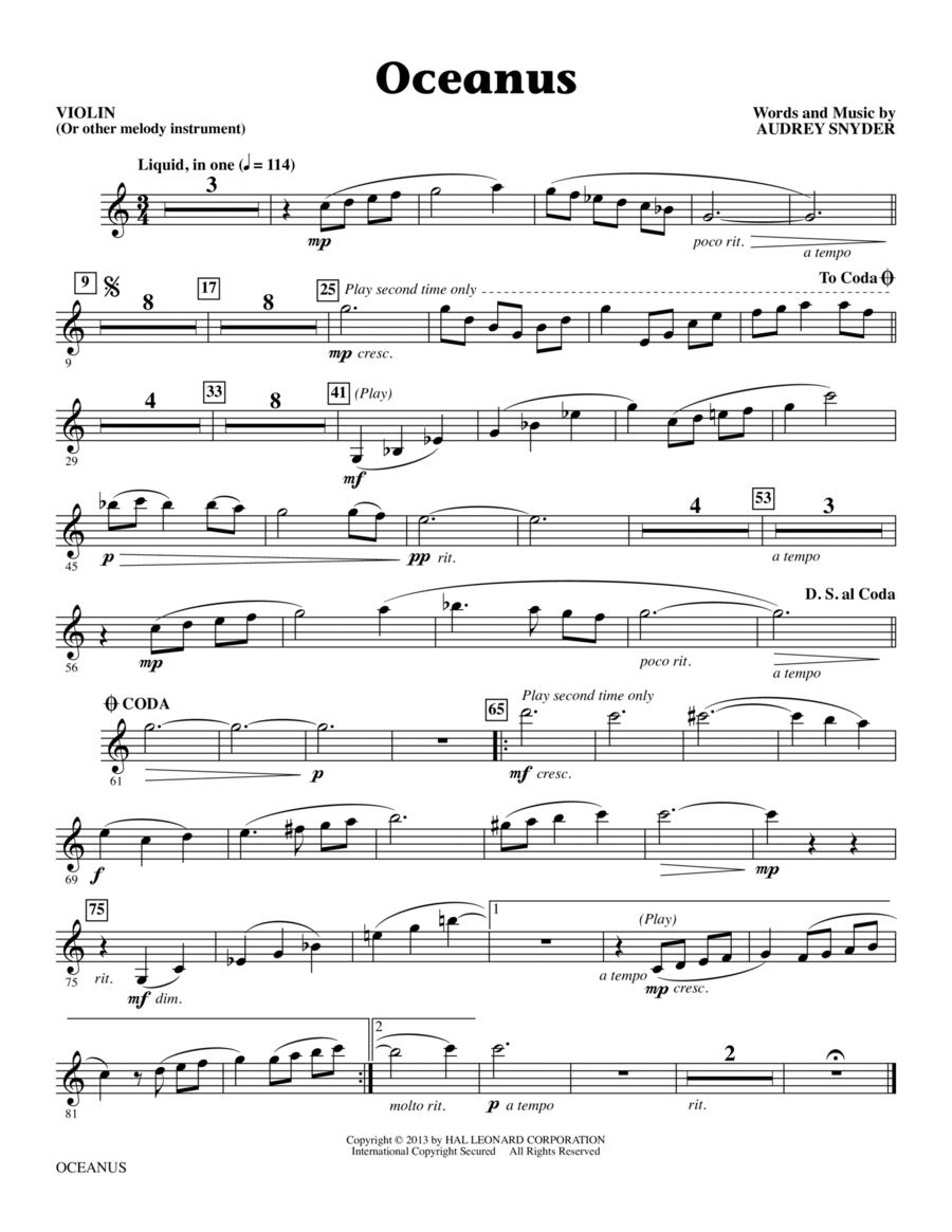 Oceanus - Violin