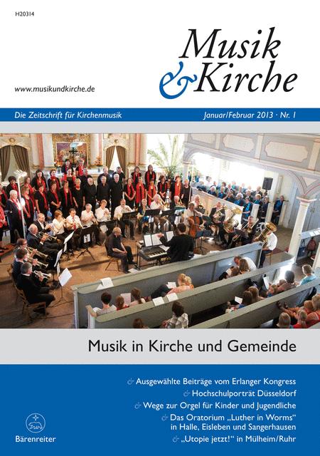 Musik & Kirche, Heft 1/2013
