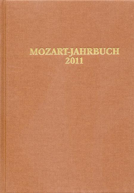 Mozart-Jahrbuch 2011