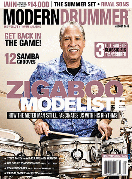 Modern Drummer Magazine - August 2013
