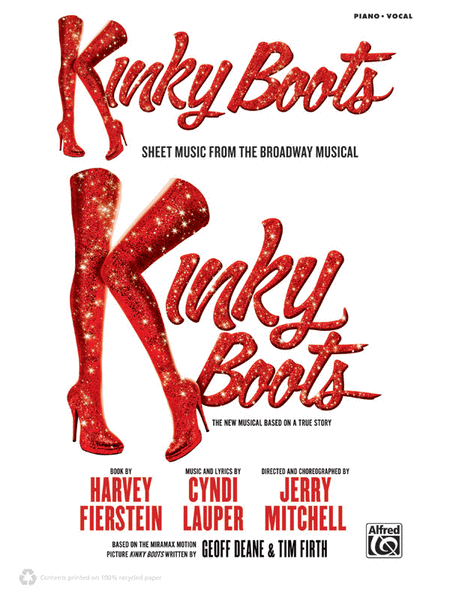 Kinky Boots -- Sheet Music from the Broadway Musical
