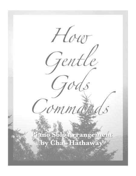 How Gentle God's Commands
