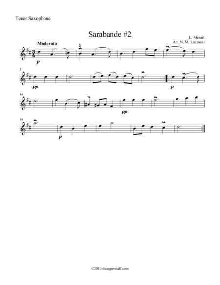 Sarabande #2