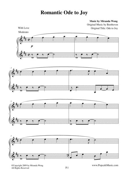 Romantic Ode to Joy - Touching Version