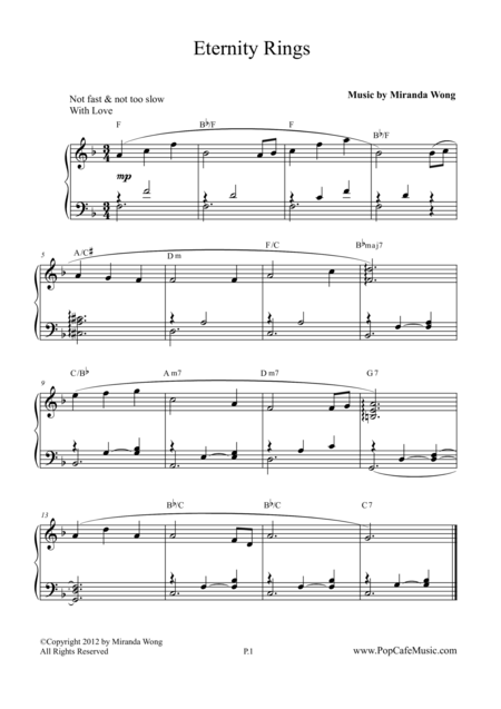 Eternity Rings - Romantic Piano Music
