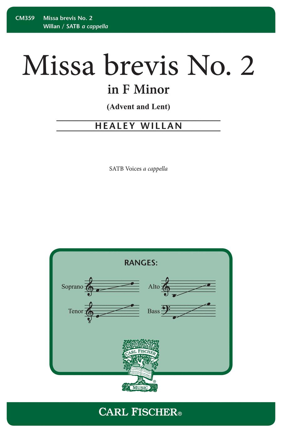 Missa Brevis #2 in F Minor