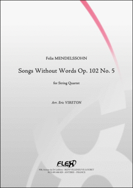 Songs Without Words Opus 102 No. 5