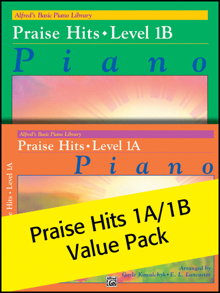 Alfred's Basic Piano Library Praise Hits 1A & 1B (Value Pack)