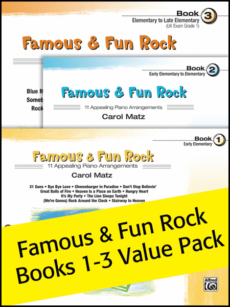 Famous & Fun Rock 1-3 (Value Pack)