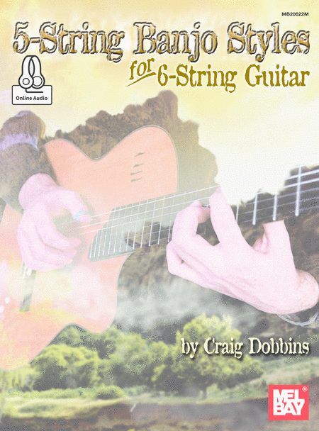 5-String Banjo Styles for 6-String Guitar