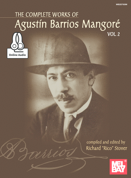 Complete Works of Agustin Barrios Mangore for Guitar Vol. 2
