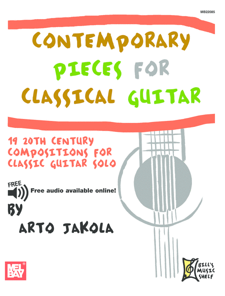 Contemporary Pieces for Classical Guitar