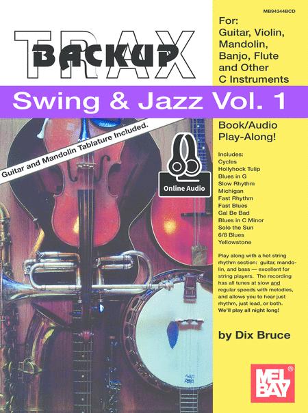Backup Trax/S&J for Guitar, Violin, Mandolin, Banjo, Flute & C Instruments