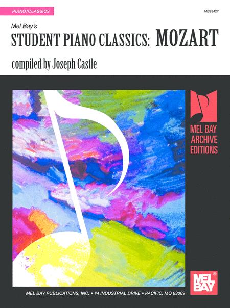 Student Piano Classics: Mozart