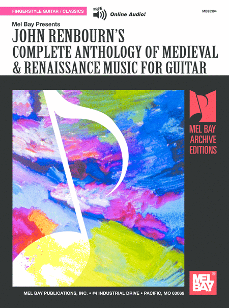 Complete Anthology of Medieval & Renaissance Music for Guitar