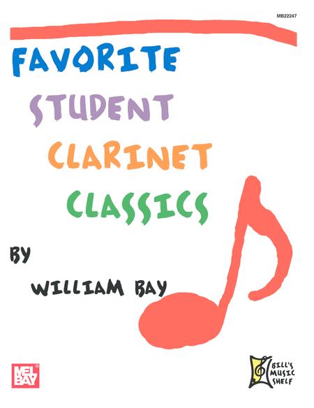Favorite Student Clarinet Classics