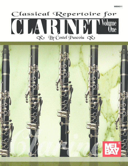 Classical Repertoire for Clarinet Volume 1
