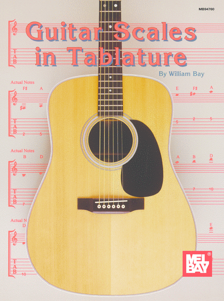 Guitar Scales in Tablature