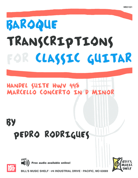 Baroque Transcriptions for Classic Guitar