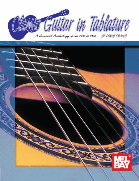 Classic Guitar in Tablature