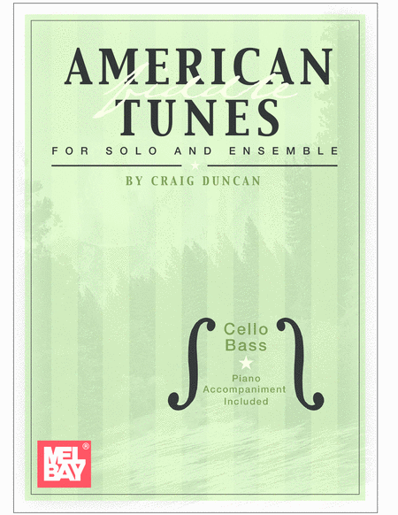 American Fiddle Tunes for Solo & Ensemble - Cello Bass