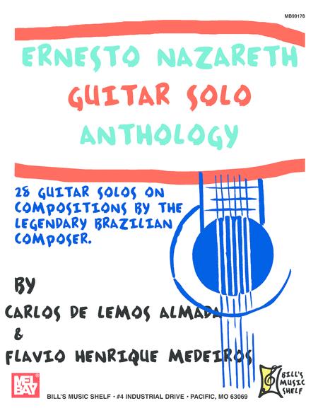 Ernesto Nazareth Guitar Solo Anthology
