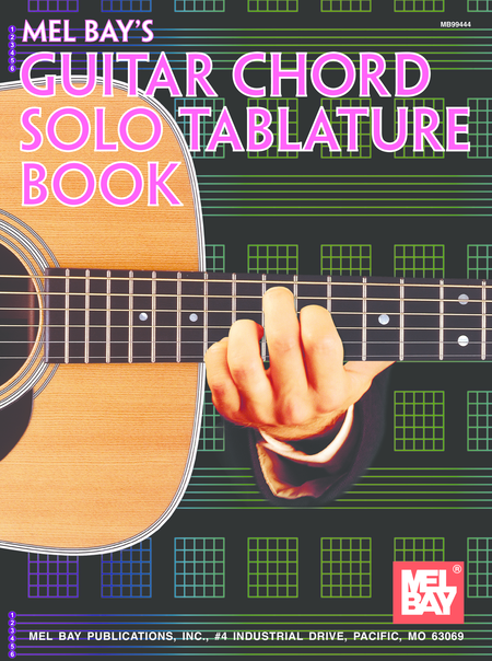 Guitar Chord Solo Tablature Book