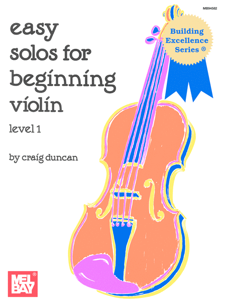 Easy Solos for Beginning Violin, Level 1