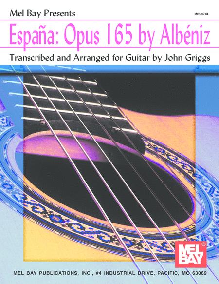 Espana: Opus 165 by Albeniz